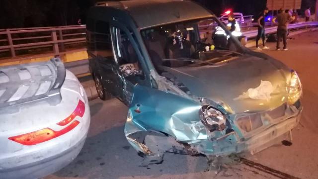 Şile otoyolunda trafik kazası: 7 yaralı