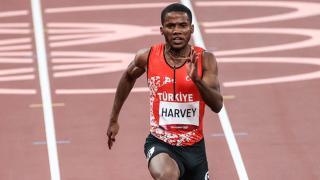 Milli atlet Jak Ali Harvey yarı finale kalamadı