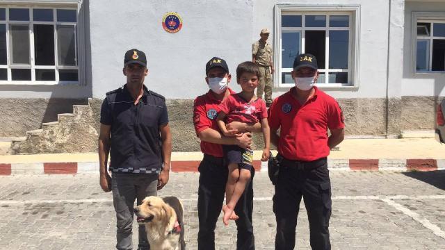 Kahramanmaraş'ta kaybolan çocuk bulundu