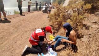 Kızılay'dan yangından etkilenen bölgelere yardım eli