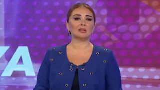 Türkiye'deki yangın haberlerini sunan Azerbaycanlı spikerden duygusal anlar