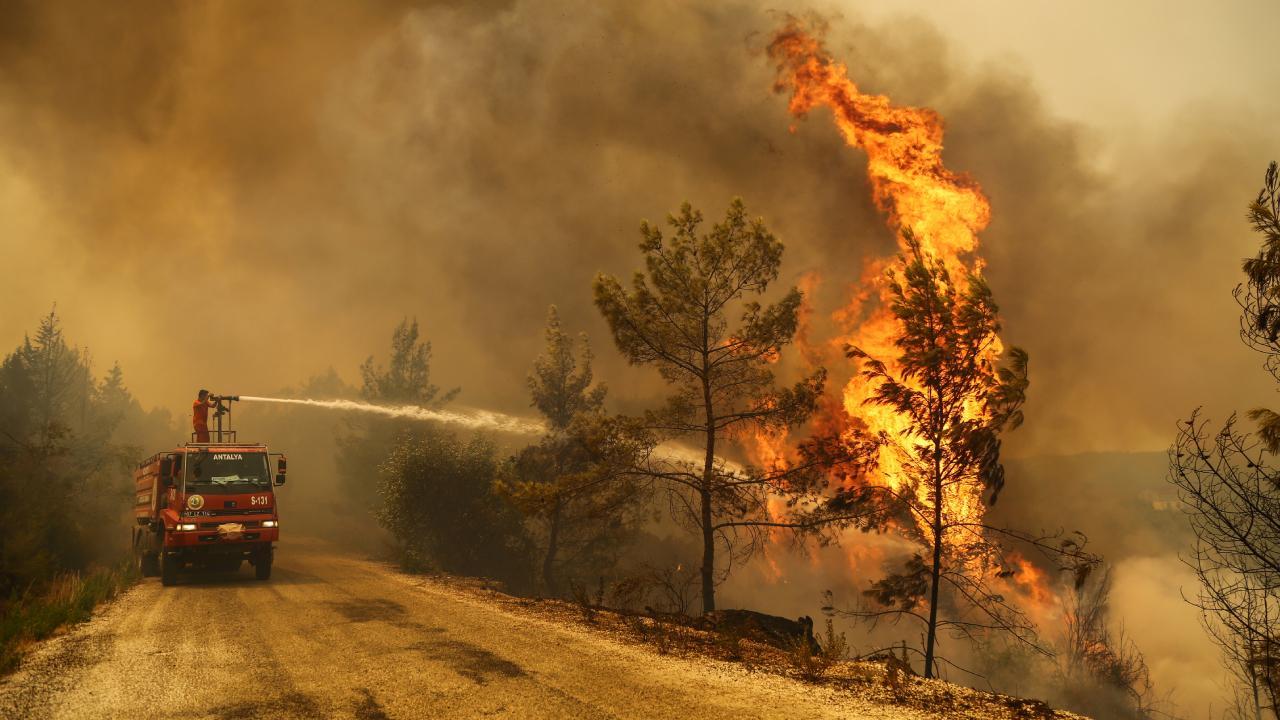 Yangınlarda can kaybı 8 oldu