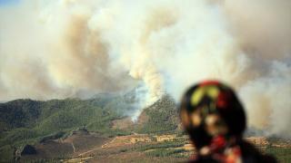 Mersin'de yangınlardan etkilenen 132 kişinin tedavisi tamamlandı