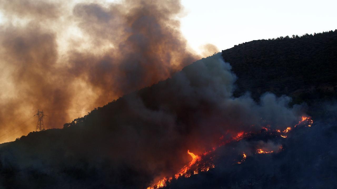 THK: 20 hava aracı yangınlara müdahalede bulunuyor