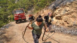 Yangının sembol ismi konuştu: Zaman değişse de kadınlarımız hiç değişmedi