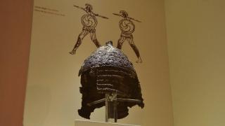 Boğazkale Müzesi'nin en nadide eseri: 2 bin 800 yıllık demir miğfer