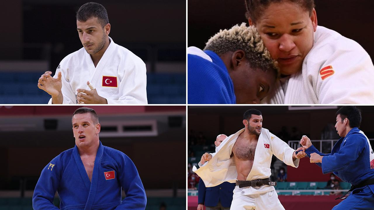 Milli judocular 21 yıllık madalya hasretini sonlandıramadı