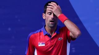 Novak Djokovic Tokyo'dan madalyasız ayrıldı