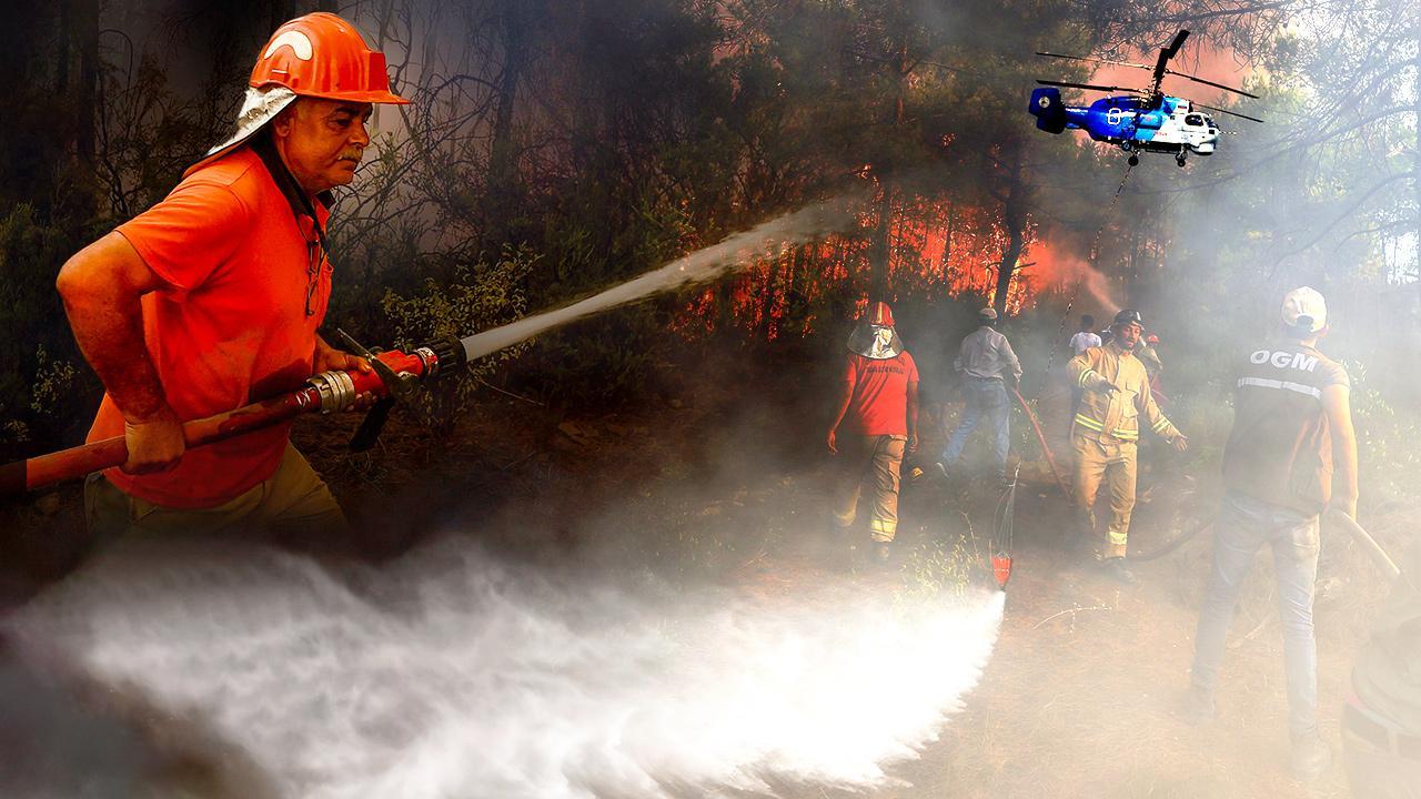 Ormanlarda çetin savaş: Nem düşüyor, sıcaklık artıyor