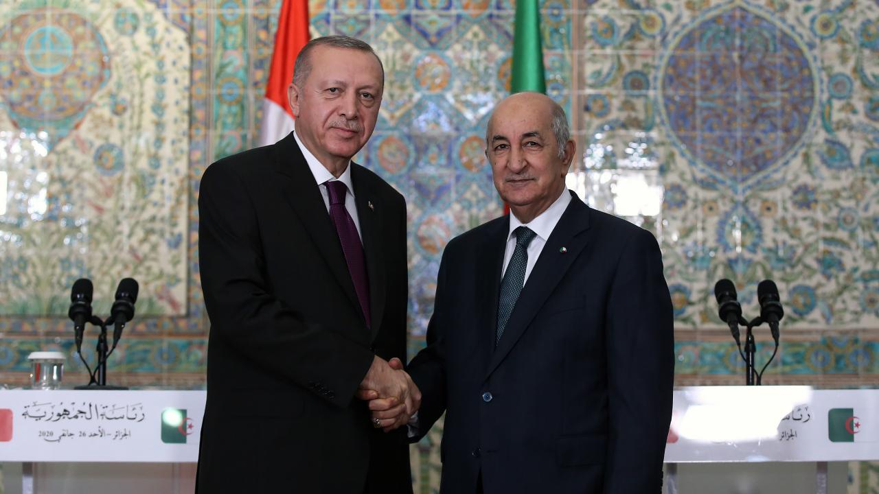 Cumhurbaşkanı Erdoğan, Tebbun ve el-Menfi ile görüştü