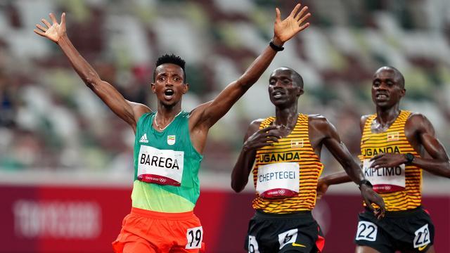Tokyoda 10 bin metreyi Etiyopyalı Barega kazandı