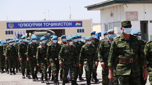 Özbekistan ve Tacikistandan ortak askeri tatbikat