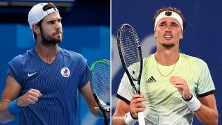 Tokyo'da teniste erkekler finali belli oldu