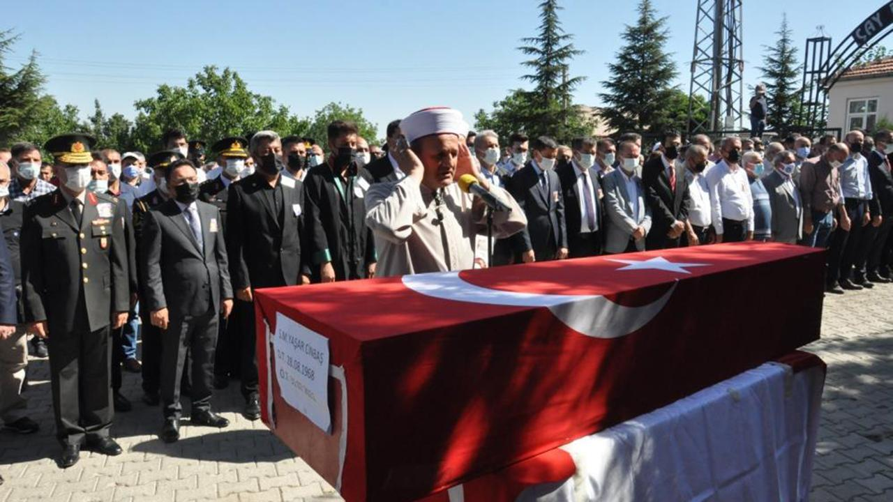 Şehit orman işçisi Yaşar Cinbaş son yolculuğuna uğurlandı