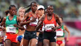 Milli atlet Yasemin Can kadınlar 5000 metrede finale yükseldi