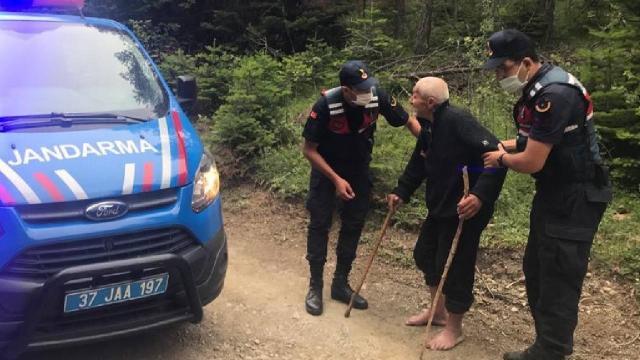 Kastamonu'da kaybolan yaşlı adam bulundu