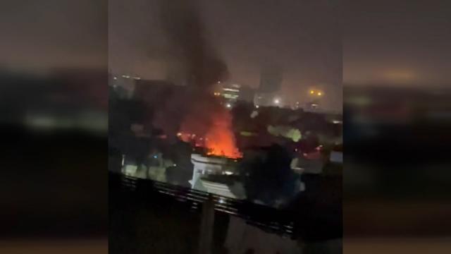 Kabilde Savunma Bakanının evinin önünde bombalı saldırı