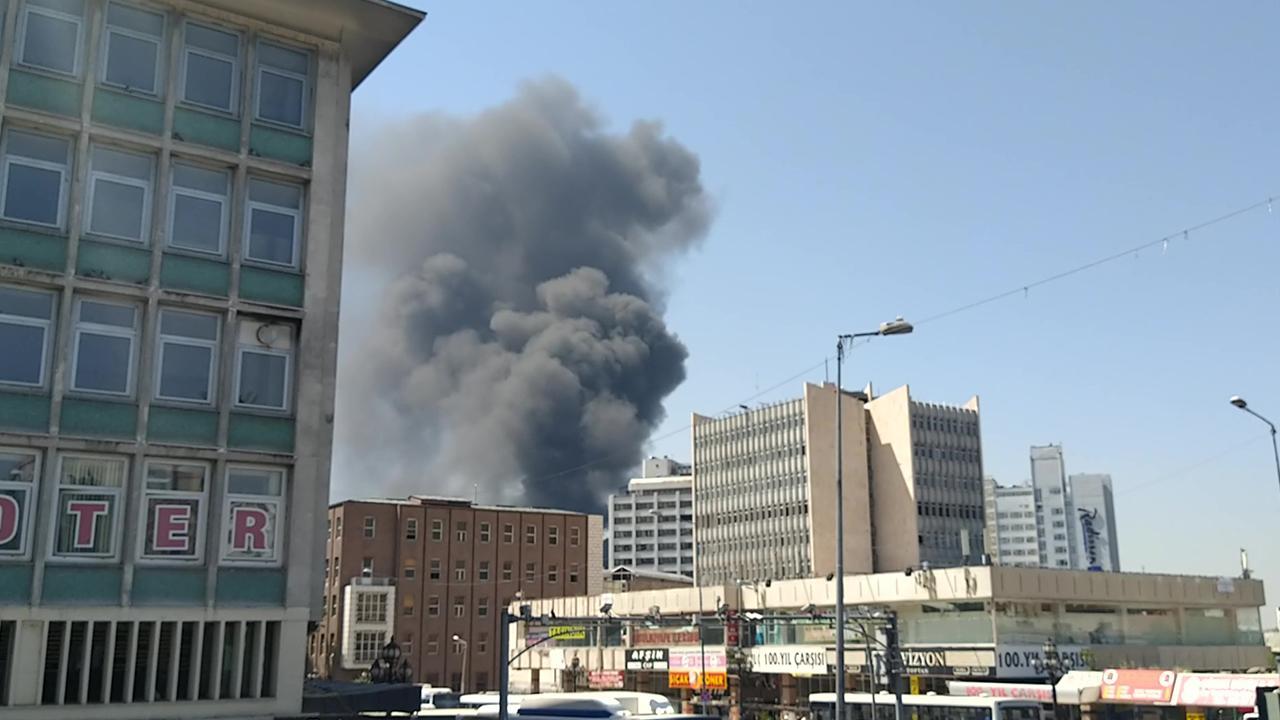 Ankara'daki yangın kontrol altına alındı