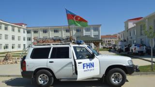 Azerbaycan'dan gelen konvoy Afyonkarahisar'da