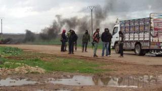 Esed rejimi, Dera kent merkezini tank atışlarıyla hedef aldı