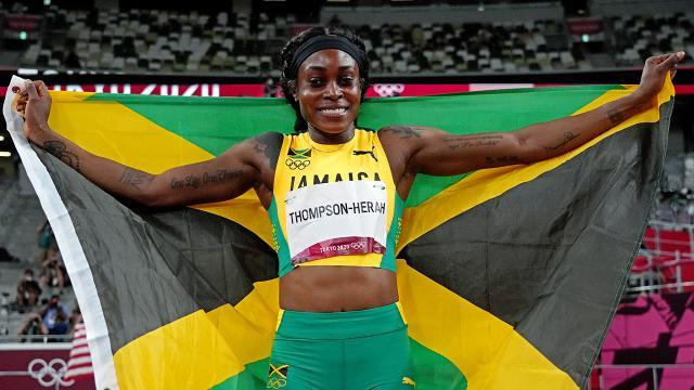 Thompson-Herah 33 yıllık olimpiyat rekorunu kırdı