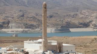 Hasankeyf'teki tarihi Er-Rızk Camii'nin restorasyonunda sona yaklaşıldı