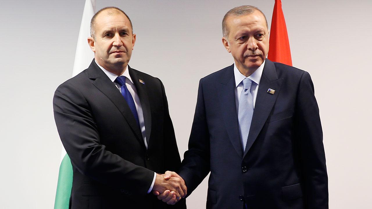 Erdoğan Bulgaristan Cumhurbaşkanı ile görüştü