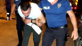 Eşini ve çocuklarını darp eden kişi yakalandı