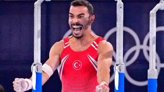 Milli cimnastikçi Ferhat Arıcan tarih yazdı