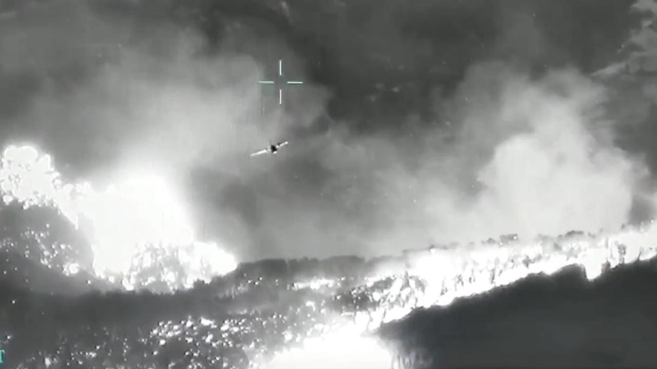İHA'lar yangınla mücadele için de devrede