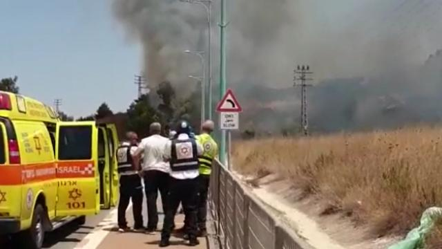 Lübnandan İsraile roket atıldı