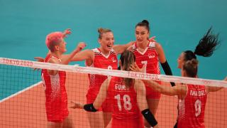 A Milli Kadın Voleybol Takımı'nın çeyrek finaldeki rakibi belli oldu