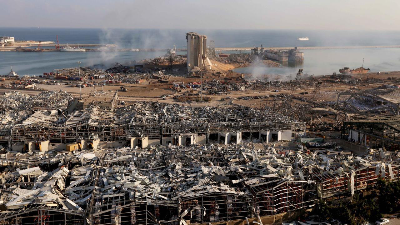 Beyrut'taki patlamanın üzerinden 1 yıl geçti