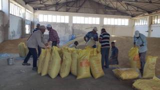Elazığ'dan Manavgat'taki besicilere arpa yardımı