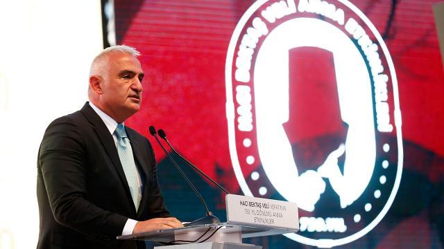 Bakan Ersoy, Hacı Bektaş Veliyi anma programında konuştu