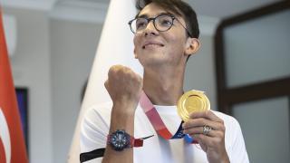 """Olimpiyat şampiyonu Mete Gazoz: """"Altın madalyanın geleceğini 5 sene önce hissettim"""""""