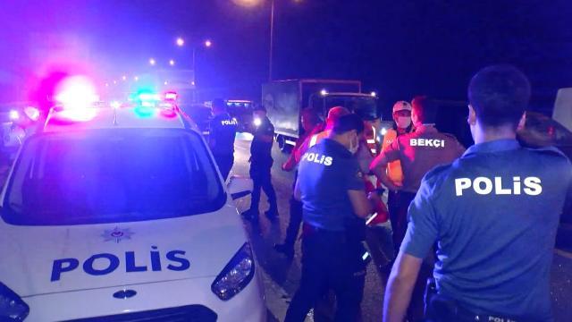 TEM Otoyolunda kaza: 7 yaralı