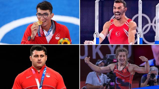 Türk sporcular Tokyo 2020de ilkleri başarıyor