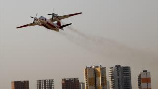 Orman yangınlarıyla mücadelede uçaklar da önemli rol üstleniyor