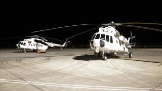 Ukrayna'dan gelen uçaklar yangınla mücadele için Isparta Havalimanı'nda hazırlıklara başladı