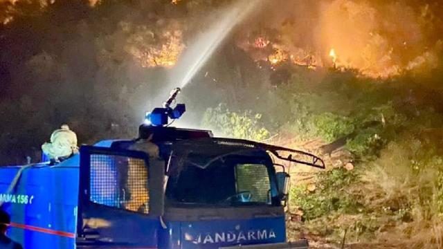 2 bin 310 jandarma personeli orman yangınlarıyla mücadele ediyor