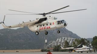Alevlere karşı zamanla yarışan uçak pilotlarının zorlu mesaisi