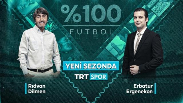 """%100 FUTBOL"" TRT Spor'da"