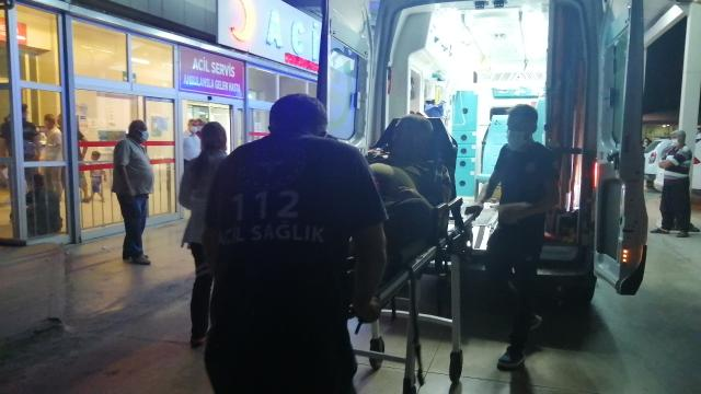 Yıldırım isabet eden 3 kişi yaralandı