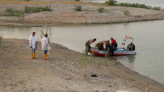 Baraj göletinde boğulan çocuğun cansız bedeni bulundu