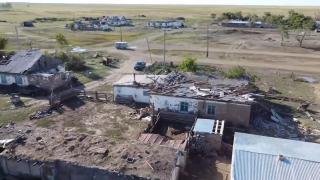 Kazakistan'da kasırga: OHAL ilan edildi