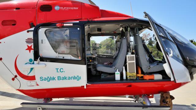 Hava ambulansı Covid-19 döneminde iki kat fazla havalandı