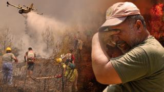 Alevlere karşı zamanla yarışan 'ormanın kahramanları'