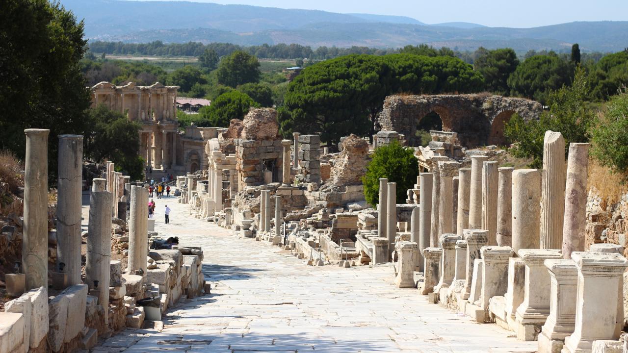 Antik Çağ'ın görkemli metropolisi: Efes