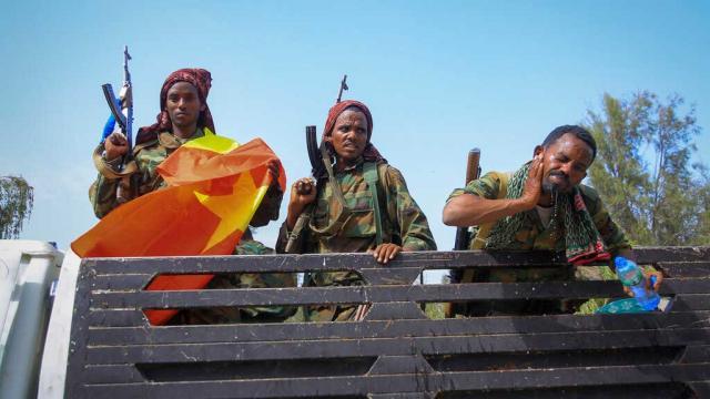 Tigraylı isyancılar Etiyopya hükümetine yaptırım uygulanmasını istedi